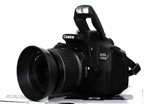 Canon EOS 700D 18 MP DSLR mit Canon EF-S 18-55mm II Objektiv Live View Video OVP