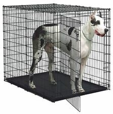 XXL Dog Kennel Crates Extra Large Travel Crate Wire Safe Cages Colossal 54 inch!