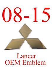 OEM Emblem 08 15 Mitsubishi Lancer 7450A095, Factory Original Grill Part New!