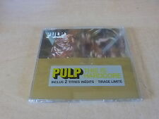 PULP - THIS IS HARDCORE - PART 1 !!!RARE FRENCH ONLY CD!!!!!FRENCH STICKER!!!!!!