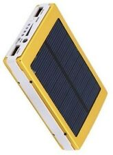 30000mAh Dual USB Portable Solar Battery Charger Power Bank For Cell Phone gold