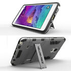 Protective Heavy Duty Hard Case For Samsung Galaxy Note 4 Stand Armor Cover Skin