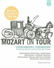 Mozart on Tour - 14 Piano Concertos & 13 Documentaries Following Mozart's journe