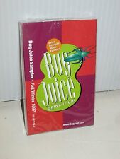 BUG JUICE FALL/WINTER SAMPLER MUSIC CASSETTE TAPE VARIOUS ARTISTS SEALED BMG