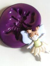 Fairy ragazza (a) STAMPI IN SILICONE 30mm TORTA DECORARE GLASSA FONDANT PASTA DI ZUCCHERO TOOL