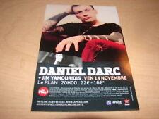 DANIEL DARC - RARE FLYER PROMO NOVEMBRE !!!!!!!!!!!
