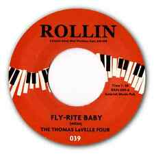 """THOMAS LaVELLE FOUR - """"FLY-RITE BABY"""" - PUMPING PIANO BOP! HEAR BOTH SIDES."""