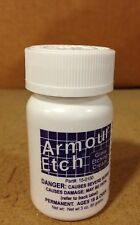 Armour glass etching cream lot of 2 three ounce bottles