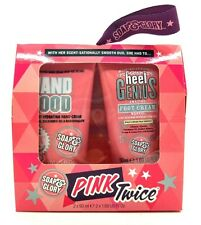 SOAP And Glory rosa due volte a mano Food & Tacco GENIUS Set Regalo di Natale