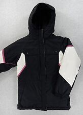 Columbia Polyester Insulated Winter Jacket (Youth 10/12) Black