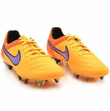 NWB NIKE Sz7.5US TIEMPO LEGEND V SG PRO SOCCER CLEAT LASER ORANGE/PERSIAN VI$210