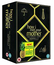 HOW I MET YOUR MOTHER COMPLETE SERIES 1-9 DVD BOX SET NEW SEASONS 2 3 4 5 6 7 8