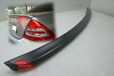 Painted MERCEDES BENZ 01-07 W203 C class AMG style trunk spoiler color-744 ◎