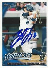 Brandon Douglas West Michigan Whitecaps 2010 Topps Signed Card