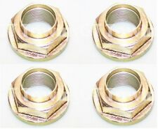 4 x Ifor Williams Axle Hub Stake Nut w/ Integral Washer (M30) One Shot - F1014