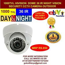 HiVision 360 Degree CCTV CAMERA 1000 TVL DOME DAY/NIGHT VISION 9
