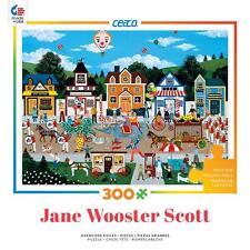 CEACO JIGSAW PUZZLE CIRCUS PANDEMONIUM JANE WOOSTER SCOTT 300 PCS #2204-25