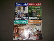 4 Country Living Magazine lot February Feb March April May 1993 antiques
