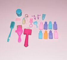 Barbie accesorios Baby accessoirs 80er 90er años vintage sonajero polvera niños