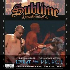Sublime 3 Ring Circus Live at The Palace Hollywood, CA 1995 2 DVD's and CD
