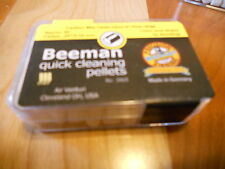 BEEMAN QUICK CLEANING AIRGUN PELLETS .20 CAL  APPROX.80 IN CONTAINER