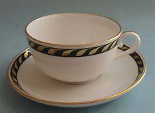 HEREND China CANDLELIGHT BLACK Hungary Magyar Dinnerware Porcelain TEACUP SAUCER