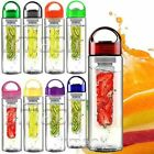 UK Fruit Fusion Infusing Hydration Aqua Infusion Healthy Juice Gym Water Bottle