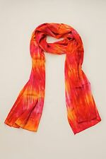 NEW PREMIUM QUALITY X LONG RED PINK TIE DYE SCARF SARONG FREE POST / SCL210PN