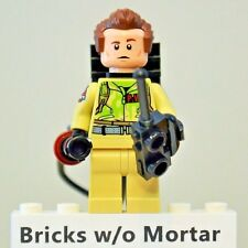 New Genuine LEGO Dr. Peter Venkman Minifig with Proton Pack Ghostbusters 75827
