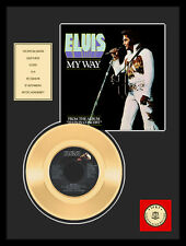 "ELVIS PRESLEY - MY WAY 7"" GOLDENE SCHALLPLATTE"