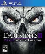 PS4 Darksiders II 2 The Deathinitive Edition NEW SEALED Region Free USA