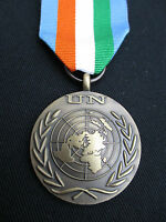 BRITISH ARMY,PARA,SAS,RAF,RM,SBS - UN Military Medal+Ribbon IVORY COAST 2003/04