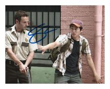 STEVEN YEUN - THE WALKING DEAD AUTOGRAPHED SIGNED A4 PP POSTER PHOTO 2