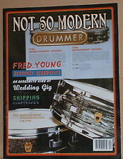 Fred Young,Kentucky Headhunters,Aerosmith Not So Modern Drummer Magazine