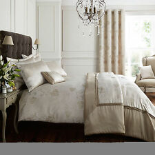 Super King Size Jacquard Detailed Butterfly Gold Duvet Quilt Cover Set ON SALE!!