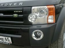 Land Rover Discovery 3 Chrome Fog Light  Surrounds Cover Trim Set