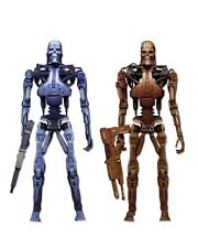 Robocop vs The Terminator Endoskeleton Video Game Action Figure 2 Pack NECA 7""