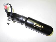 VINTAGE SINGER SEWING MACHINE LIGHT FOR MODEL 15, 66, 28  REWIRED, CLEANED, NICE