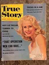 VINTAGE TRUE STORY MAGAZINE JUNE 1959   WOMANS MAGAZINE ADULT SEX