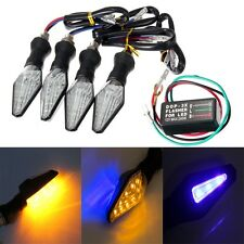 UNIVERSAL MOTORCYCLE LED TURN SIGNAL INDICATOR LIGHT BLINKER LAM & FLASHER RELAY