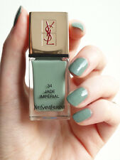 YSL LA LAQUE COUTURE VERNIS A ONGLES NAIL LACQUER 34 JADE IMPERIAL
