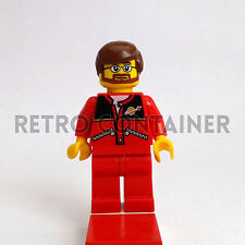 LEGO Minifigures - Delivery Drive - trn126 - Space Classic Logo Omino Minifig