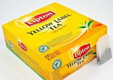 3 X Lipton Yellow Label Tea 100 Teabags  300 Teabags Supplied  Free UK Delivery