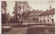 Sweden Motala - Planteringen vid Kanalbanken old used not mailed postcard