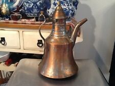 Vintage Handmade Antique Copper Turkish Tea/Coffee Kettle