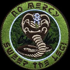 ZHT GEAR: KARATE KID COBRA KAI  MULTICAM PATCH W/VELCRO~MILSPEC~MIYAGI / KREESE