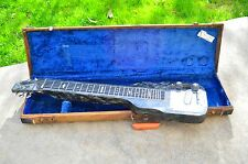Magnatone Lap Steel Guitar 1950s Black Pearloid