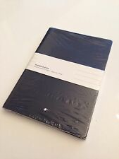 NEU MONTBLANC A5 Luxus Notizbuch Notebook #146 Blue Fine Stationery 21x15cm -627
