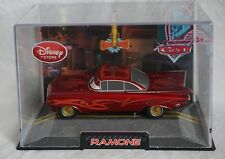 Disney Store Pixar Cars Red Ramone Die Cast Car 1:43 Scale NEW Hard Plastic Case