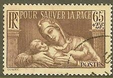 "FRANCIA SELLO STAMP Nº 356 "" EN BENEFICIO DE LA SOCIEDAD PROLYPHAXIE """